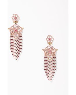 Toast Of The Town Statement Duster Earrings