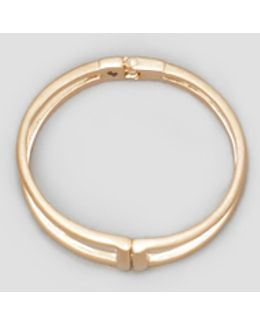 Two-row Hinged Bangle