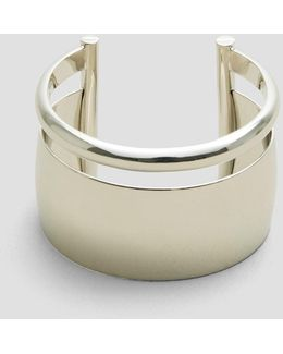 Hematite Large Cuff