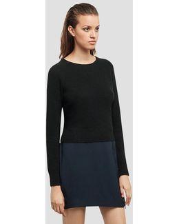 Cashmere Crop Sweater