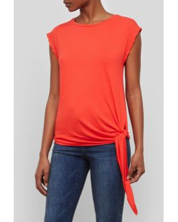 Side Knot Sleeveless Top
