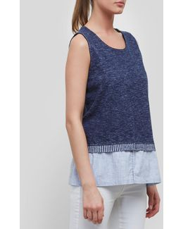 Knit Denim Tank