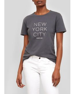 New York City Graphic Logo T-shirt