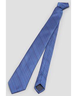 Polka-dot Striped Tie