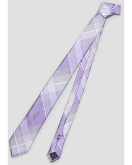 Symphony Plaid Tie