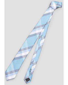 Orchestra Plaid Tie