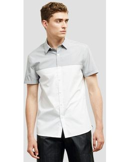 Colorblock Button-front Shirt
