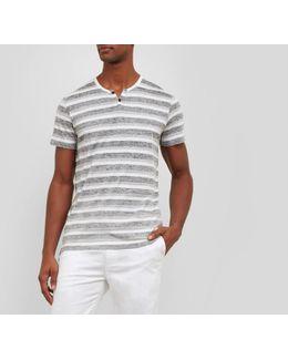 Short-sleeve Stripe Shirt