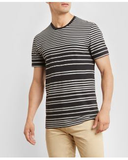 Short-sleeve Stripe T-shirt