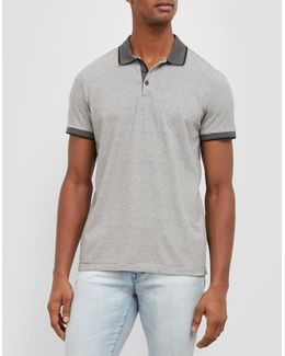 Short-sleeve Stripe Polo