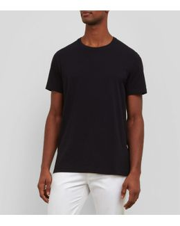 Solid Crew Neck T-shirt
