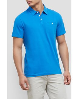 Button Front Polo