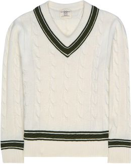 V-neck Cricket Knit