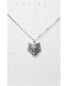 3d Tiger Necklace