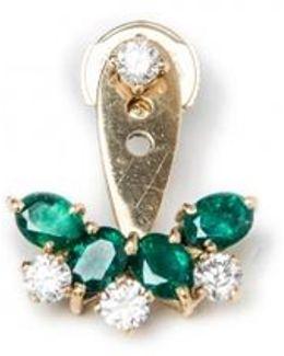 Emerald Single Earring