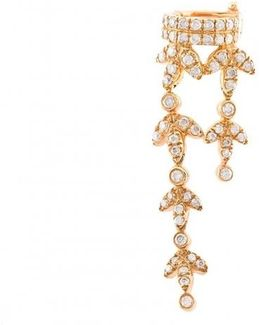 Dangly Cuff Diamond Earring
