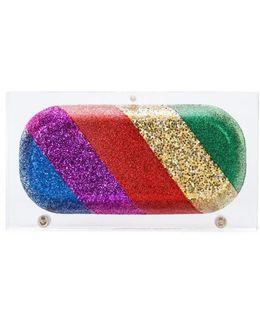 Rainbow Pill Clutch