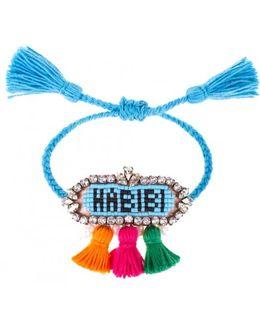 Blue 'hippie Habibi' Bracelet