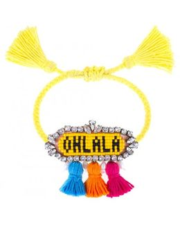 Yellow 'ohlala' Bracelet