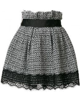 Tweed Short Skirt