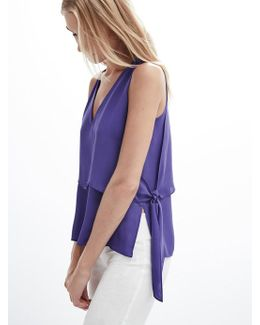 Side Tie Layered Tank