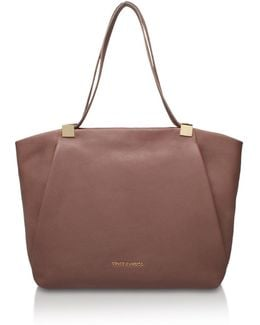 Carin Satchel In Taupe