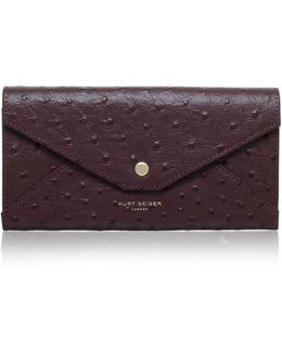 Ostrich Envelope Wallet