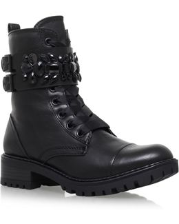 Sax Low Heel Ankle Boots