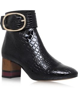 Ringo Zip Up Ankle Boots