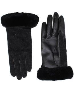 Shorty Smart Glove In Black
