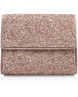 Blane Small Clutch In Gold