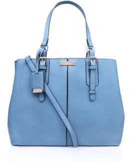 Ortha Large Slouch Tote In Blue