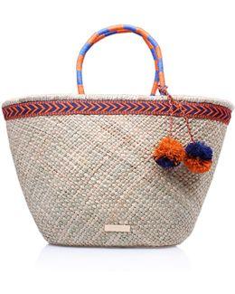 Penny Raffia Bag