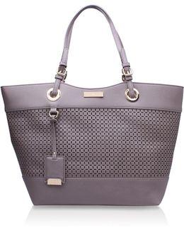 Lucinda Cut Out Shopper Bag