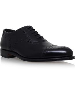 Overton Polish Brogue Ox In Black