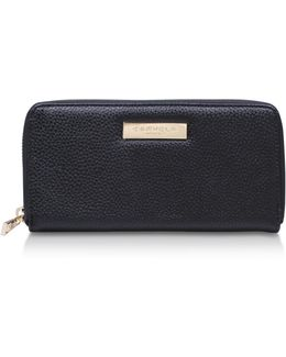 Alis Pebble Wallet In Black