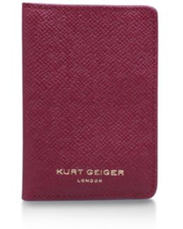 New Saf Travel Cardholder In Fushia