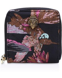 Fabric Mini Zip Wallet In Other