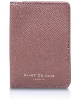 New Saf Travel Cardholder In Pink