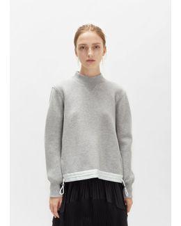 Sponge Drawstring Sweatshirt