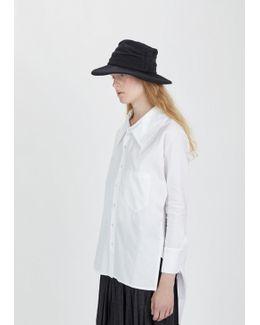 Knit Flannel Tuck Hat