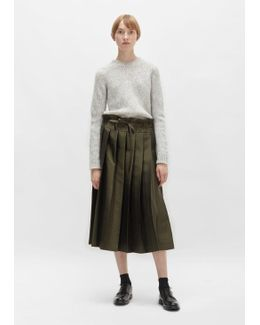 Double Pleated Skirt