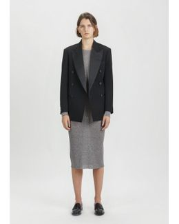 Johna Wool Double Breasted Blazer