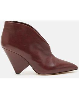 Adenn Point Toe Ankle Boots