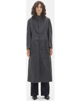 Felted Double Face Coat