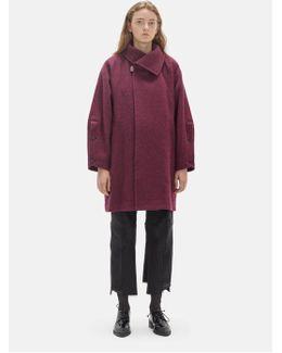 Auroral Wool Peacoat