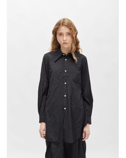 Pointed Collar Classic Shirt