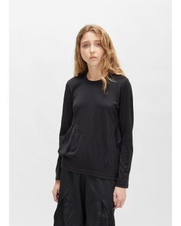 Worsted Wool Jersey Tee