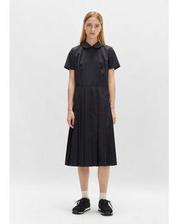 Wool Gabardine Dress