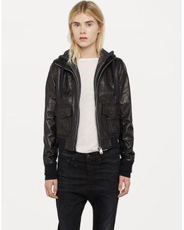 Hooded Flight Jacket